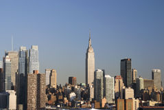 Empire State Skyline Royalty Free Stock Image