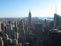 Empire State y New York City Fotos de archivo libres de regalías