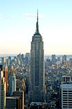 Empire states 2. A view of empire state building in new york royalty free stock image