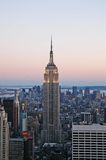 Empire states. A view of empire state building in new york royalty free stock image