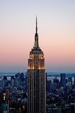 Empire states 4. A view of empire state building in new york royalty free stock photo