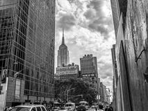 Empire Street View Stock Images