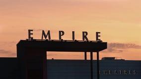Empire Theatres Stock Photo