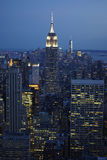 EmpireState tower. New York EmpireState heaven on earth Royalty Free Stock Images
