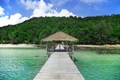 Emplacement d'île Photos stock