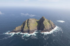 Emplacement de film de Skellig Michael Star Wars Last Jedi Photos stock