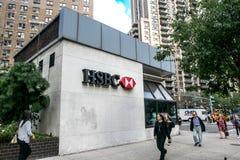 Emplacement de HSBC Image libre de droits