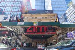 Emplacement de salle de cinéma d'AMC Les théâtres d'AMC est une chaîne américaine VII de salle de cinéma photographie stock libre de droits