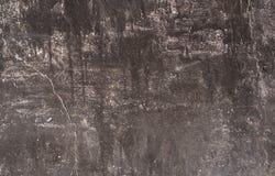 Emplastro abstrato natural do fundo na parede foto de stock