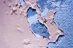 Emplastro colorido danificado - imagem útil da imagem do conceito também para expressar os conceitos de: envelhecimento, decadênc fotos de stock royalty free