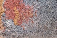 Emplastro lascado velho no fundo da textura do muro de cimento imagens de stock royalty free