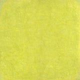Emplastro sujo amarelo no fundo de papel Imagem de Stock Royalty Free