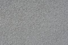 Emplastro Textured de uma cor cinzenta Fotografia de Stock