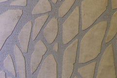 Emplastro textured decorativo em tons bege imagem de stock royalty free