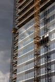 Emplazamiento de la obra del edificio de oficinas Imagenes de archivo
