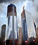 Emplazamiento de la obra del World Trade Center Imágenes de archivo libres de regalías