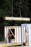 Emplazamiento de la obra - pared modular 2 Foto de archivo libre de regalías
