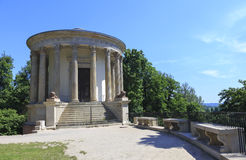 Emple of the Sibylin romantic garden in Pu�awy, Poland, built in the late 18th century as a museum by Izabela Czartoryska Royalty Free Stock Photography