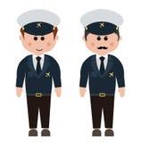 Empleo, asistentes de vuelo Imágenes de archivo libres de regalías