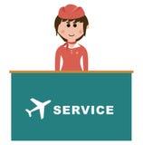 Empleo, asistentes de vuelo Fotos de archivo