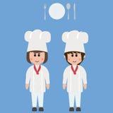 Empleo, cocinero Fotografía de archivo