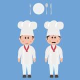 Empleo, cocinero Fotografía de archivo libre de regalías