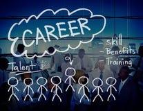 Empleo Job Recruitment Occupation Concept de las carreras Foto de archivo libre de regalías