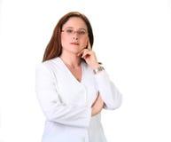 Employé d'industrie médicale Images stock