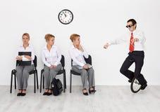 Employés avec des qualifications spéciales voulues Photos stock