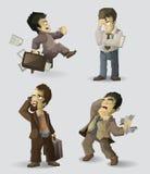 Employés de bureau illustration stock