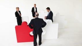 Employés de découverte de patron temporisant banque de vidéos