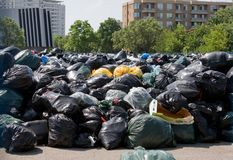 Employés de la ville de Toronto en grève Photographie stock