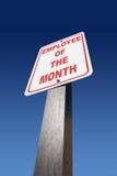 Employé du mois Images libres de droits