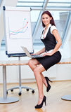 Employed in business Royalty Free Stock Images