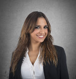 Employed businesswoman Royalty Free Stock Photo