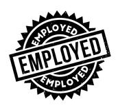 Employed rubber stamp Stock Photo