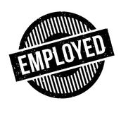 Employed rubber stamp Royalty Free Stock Photo