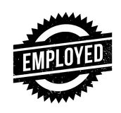 Employed rubber stamp Royalty Free Stock Photography