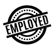 Employed rubber stamp Stock Photography