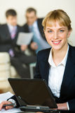 Employee royalty free stock photography