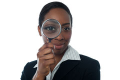 Employee background verification Stock Photos