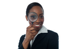 Employee background verification Stock Image