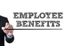 EMPLOYEE BENEFITS Royalty Free Stock Photos