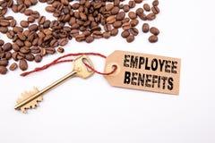 Employee Benefits concept stock photography