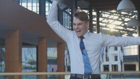 Employee Celebrating Success royalty free stock photos