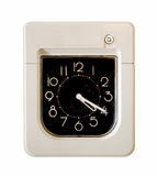 Employee control clock Royalty Free Stock Photos