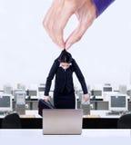 Employee exploitation concept Stock Photos