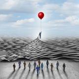 Employee Leadership Solution Stock Photography