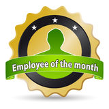 Employee of the month Royalty Free Stock Images