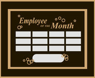 Employee of the Month Royalty Free Stock Photos